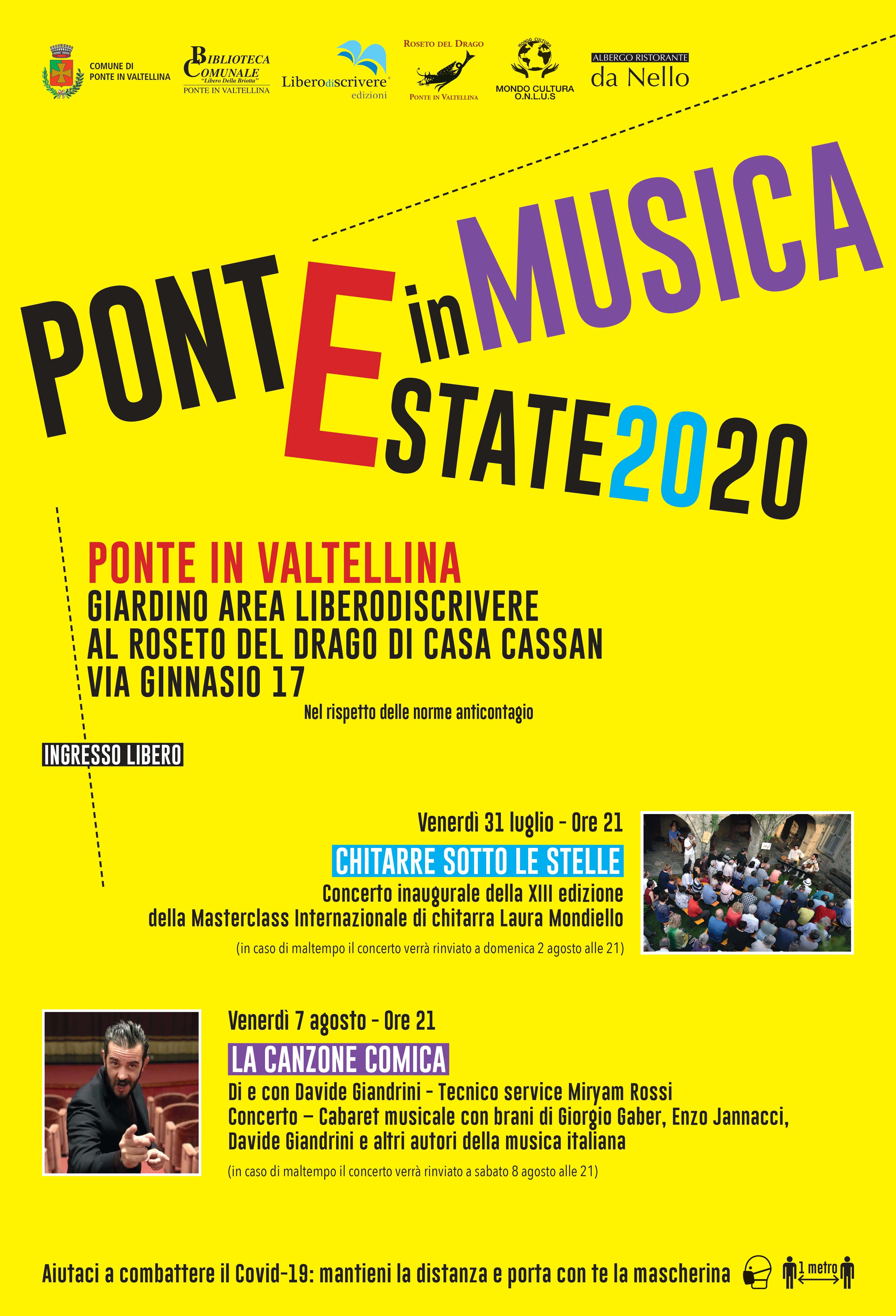 PonteinMusica Estate2020
